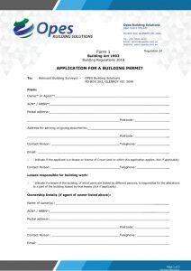 thumbnail of T1 – Form 1 – Building Permit Application Form Feb 2021